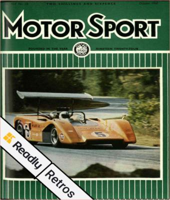 Motor Sport Retros - 05 October 2021