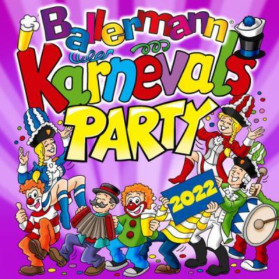 Various Artists - Ballermann Karnevals Party 2022 (2021)